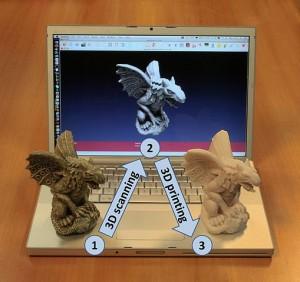 Escaneo y impresión 3D