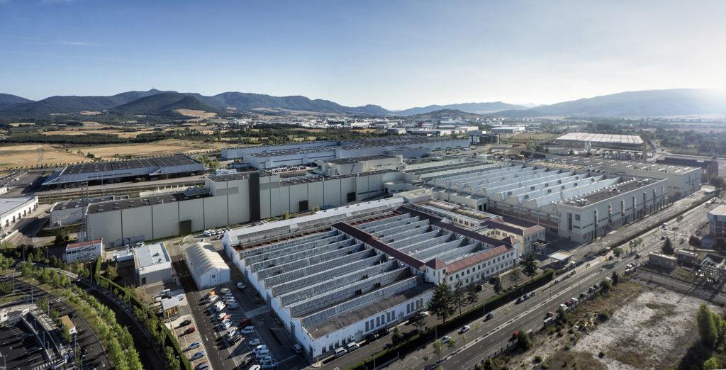 Instalaciones de la fábrica de Mercedes Benz Vitoria